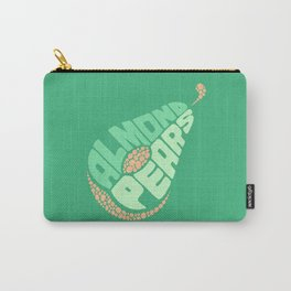 Almond Pears Carry-All Pouch