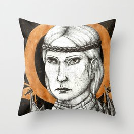 Ladies of Dragon Age: Aveline Vallen Throw Pillow