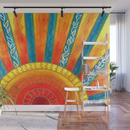 Sunny with Zero Chance of Clouds Wall Mural