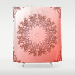 Enamored laced illusion Shower Curtain