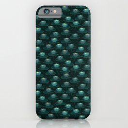 King-Frog Lotus Pond iPhone Case