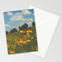 Dreaming in a Summer Field Stationery Cards
