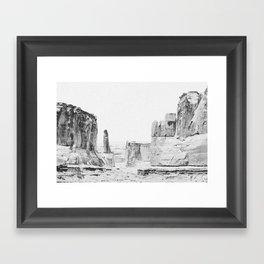 ARCHES NATIONAL PARK / Utah Framed Art Print
