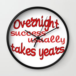 Funny quotes Wall Clock