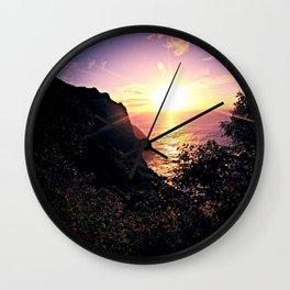 Fairytales End Wall Clock