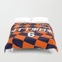 2001 Duvet Covers featuring Omiya 2001 by Thomas Fiers
