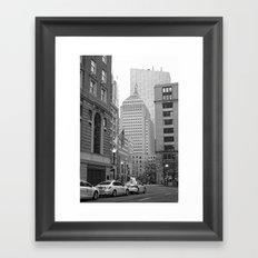 Park Plaza Framed Art Print