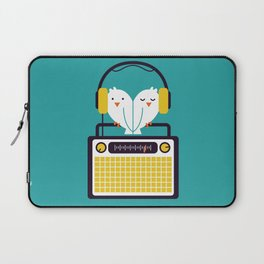 Radio Mode Love Laptop Sleeve