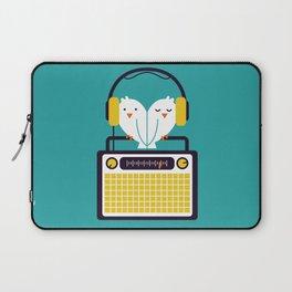 Radio Mode Love Laptop Sleeve