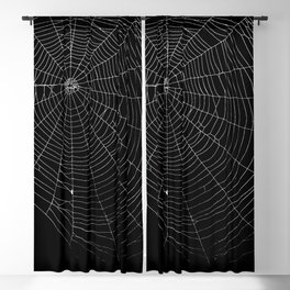 Spiders Web Blackout Curtain
