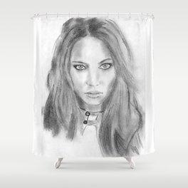 Katniss Shower Curtain