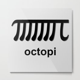 Octopi Metal Print