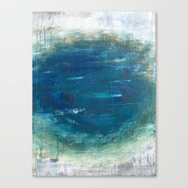 """S1 abstract earth"" Canvas Print"