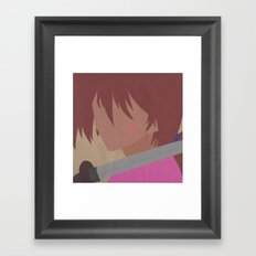 Rurouni Kenshin  Framed Art Print