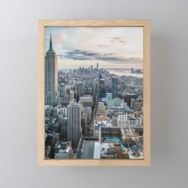 New York City 02 Framed Mini Art Print