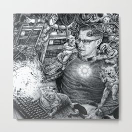 whatsyourbeeple #57 : everydays Metal Print