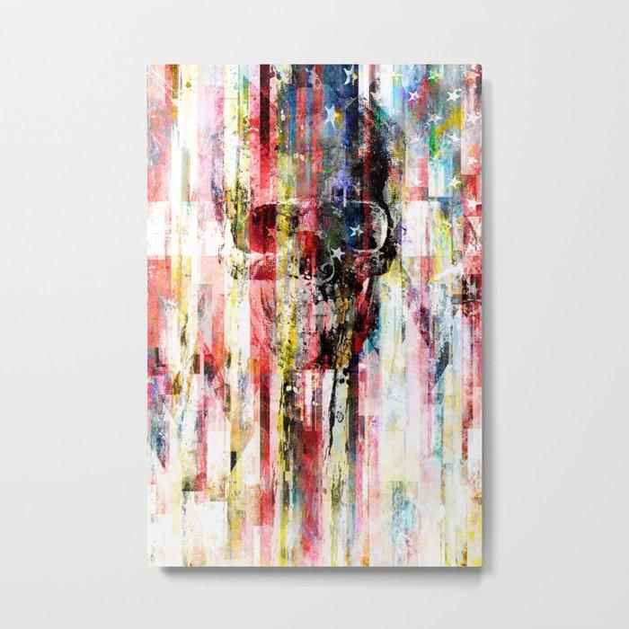 Lenny Hostile Metal Print