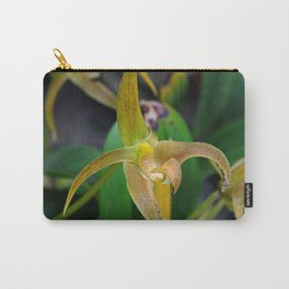 Golden Epidendrum Carry-All Pouch