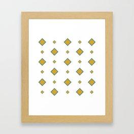 Zen Stars Framed Art Print