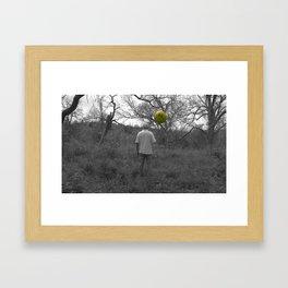 The Man Framed Art Print