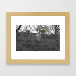 The Man Framed Art Print