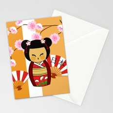 Kokeshi Ai  Stationery Cards