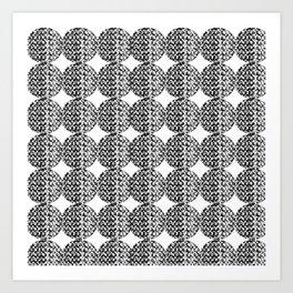 Circular Art Print