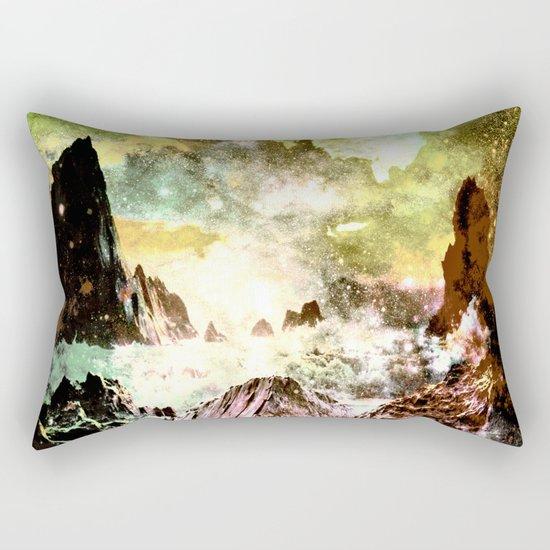 space mountains Rectangular Pillow
