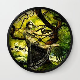Beneath the Bodhi Tree Wall Clock