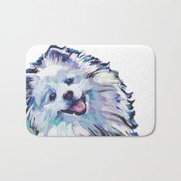 AMERICAN ESKIMO Dog Pop Art Bath Mat