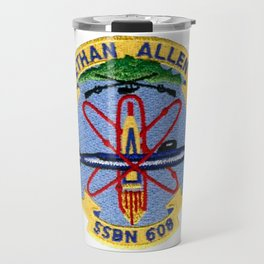 USS ETHAN ALLEN (SSBN-608) PATCH Travel Mug