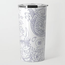 Japanese Tattoo Travel Mug