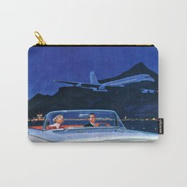 Chilling Retro Couple Carry-All Pouch