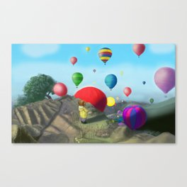 surprise view. Canvas Print