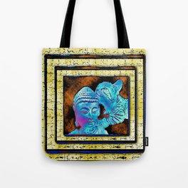 Lucy & Buddha Tote Bag