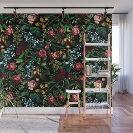 Floral Jungle Wall Mural