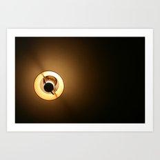 Ceiling light. Art Print