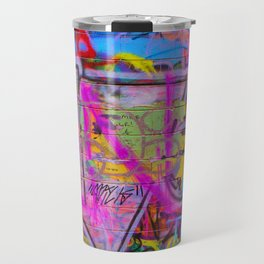 Bright Graffiti Travel Mug