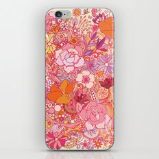 Detailed summer floral pattern iPhone & iPod Skin