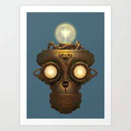 Robot With a Purpose No. 5 Art Print