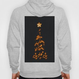 Golden Blurry Christmas Tree (Color) Hoody