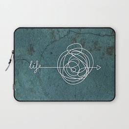 Life is messy Laptop Sleeve