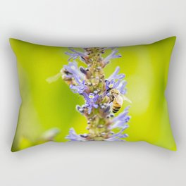European Honey Bee Rectangular Pillow