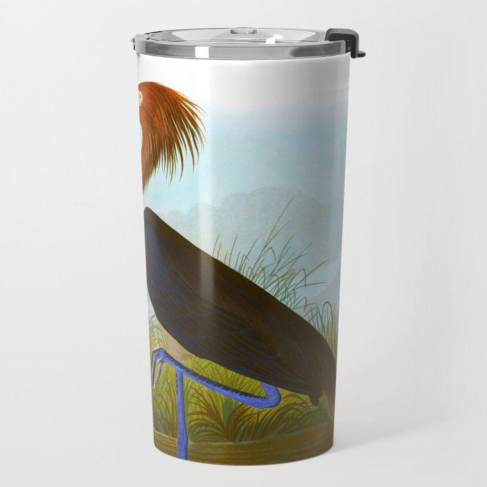 Purple Heron Travel Mug