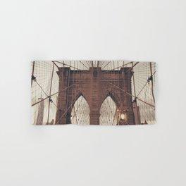 Moody Brooklyn Bridge Hand & Bath Towel