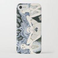 swim iPhone & iPod Cases featuring Swim by Yuliya