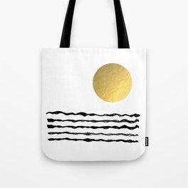 Sun and sea Tote Bag