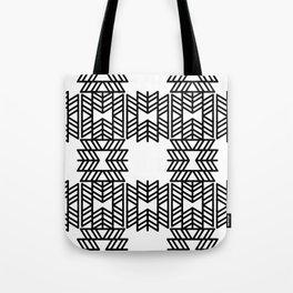 Z Pattern Tote Bag
