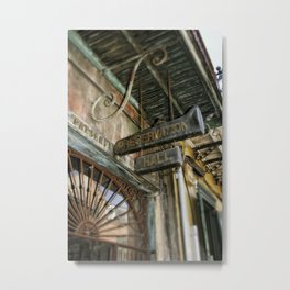 Preservation Hall Metal Print