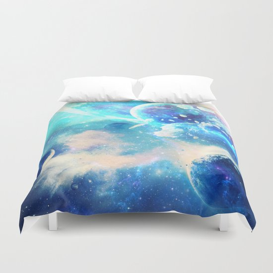 Planets Dimension Duvet Cover
